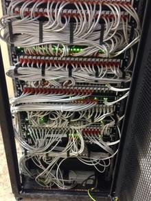 Сборка серверных стоек и их пусконаладка
